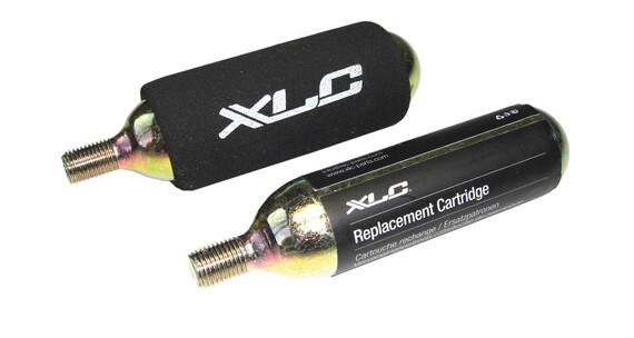XLC Set reserve cartridges zwart/goud